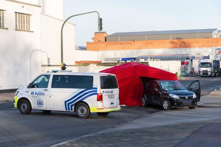 Een motorrijder (39) kwam om het leven bij een ongeval op de Deurnsebaan in Merksem.