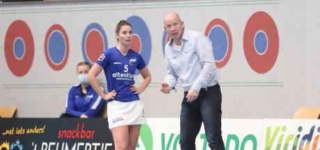 Vrouwen Oost-Arnhem scoren met drie goals nog mager in de Korfbal League