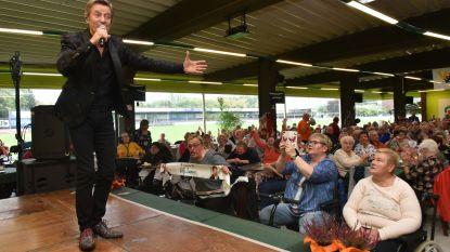 Willy Sommers staat dit weekend alweer op het podium na hartoperatie