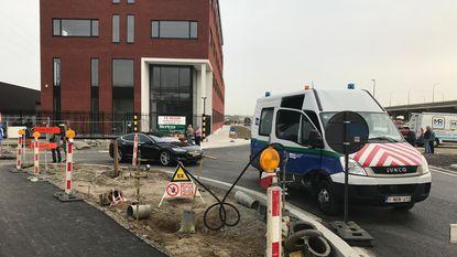 Bewoners en bedrijven geëvacueeerd door gebroken gasleiding in Merksem