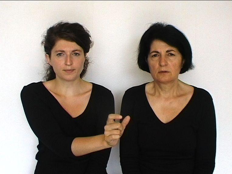 Een beeld uit de film 'M.A.M. (My Assyrian Mother)' van Meggy Rustamova (r.) Beeld RV Meggy Rustamova