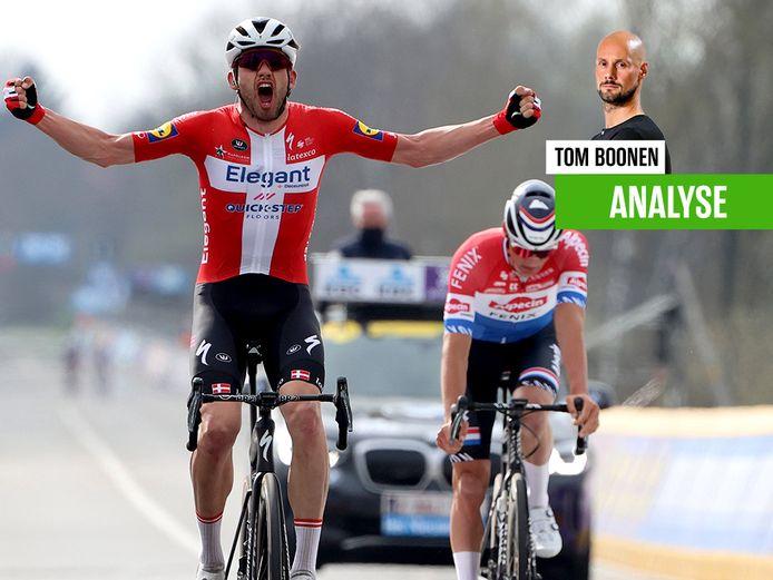 Asgreen won, Tom Boonen voorspelde dat.