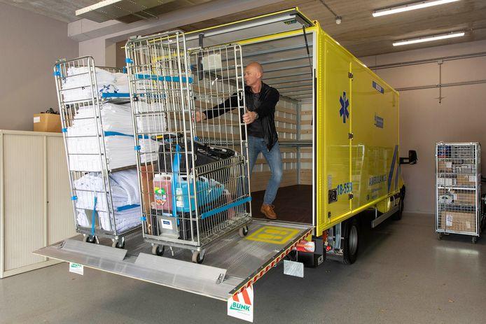 Vrachtwagen logistiek RAVZHZ