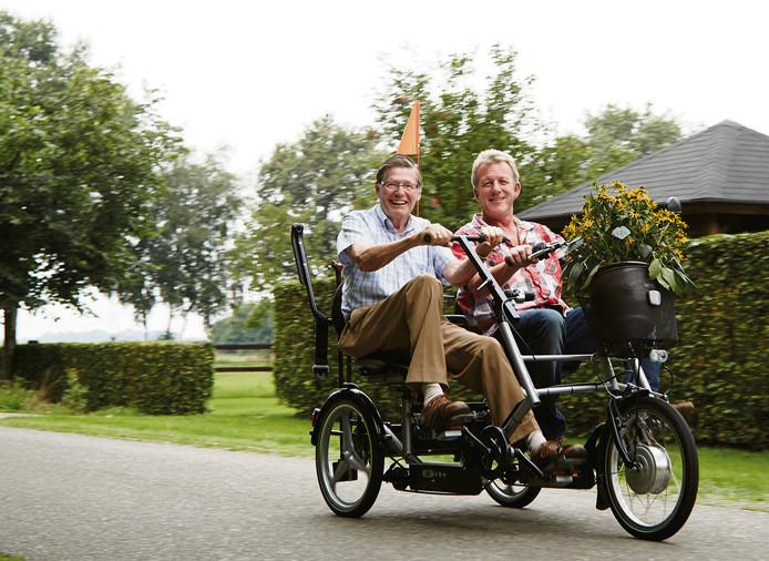 Het Liefferdinck in Den Ham krijgt een duofiets.