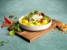 Wat Eten We Vandaag: Kokos Laksa met koriander visballetjes