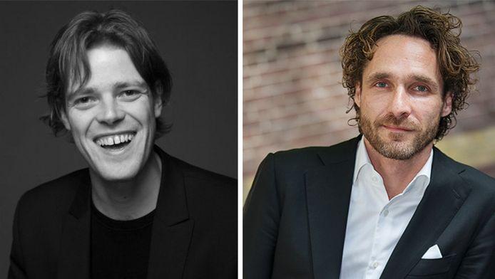 Martijn Koning (links) heeft aangifte gedaan tegen Javier Guzman (rechts).