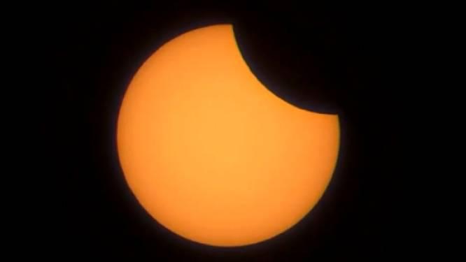Zo zag de zonsverduistering eruit