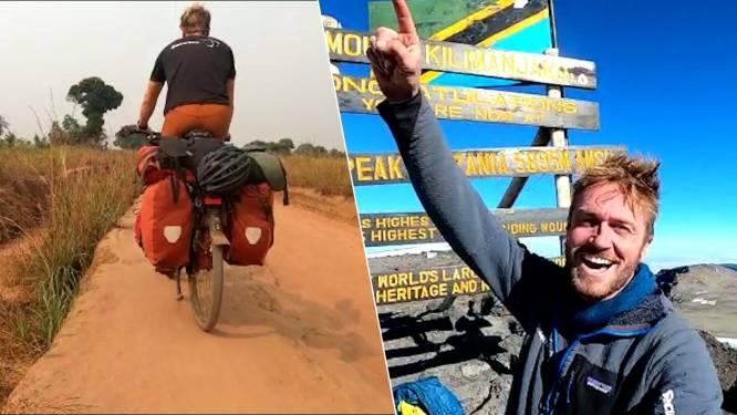 Jelle fietst helemaal van Dendermonde naar Kilimanjaro en vertelt over waanzinnige reis
