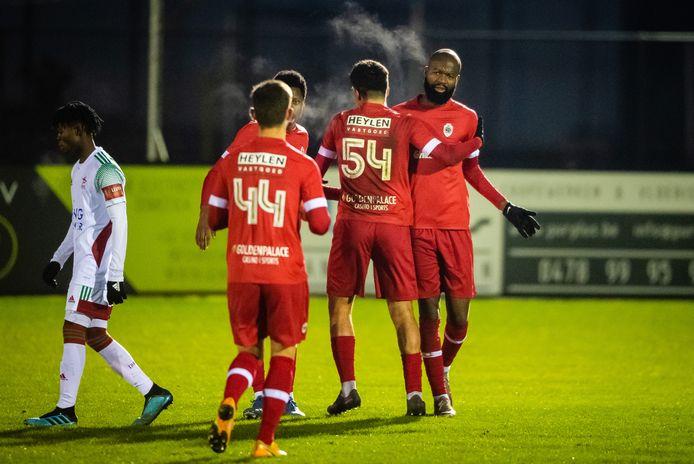 Didier Lamkel Zé scoorde gisteren het winnende doelpunt in een beloftenmatch