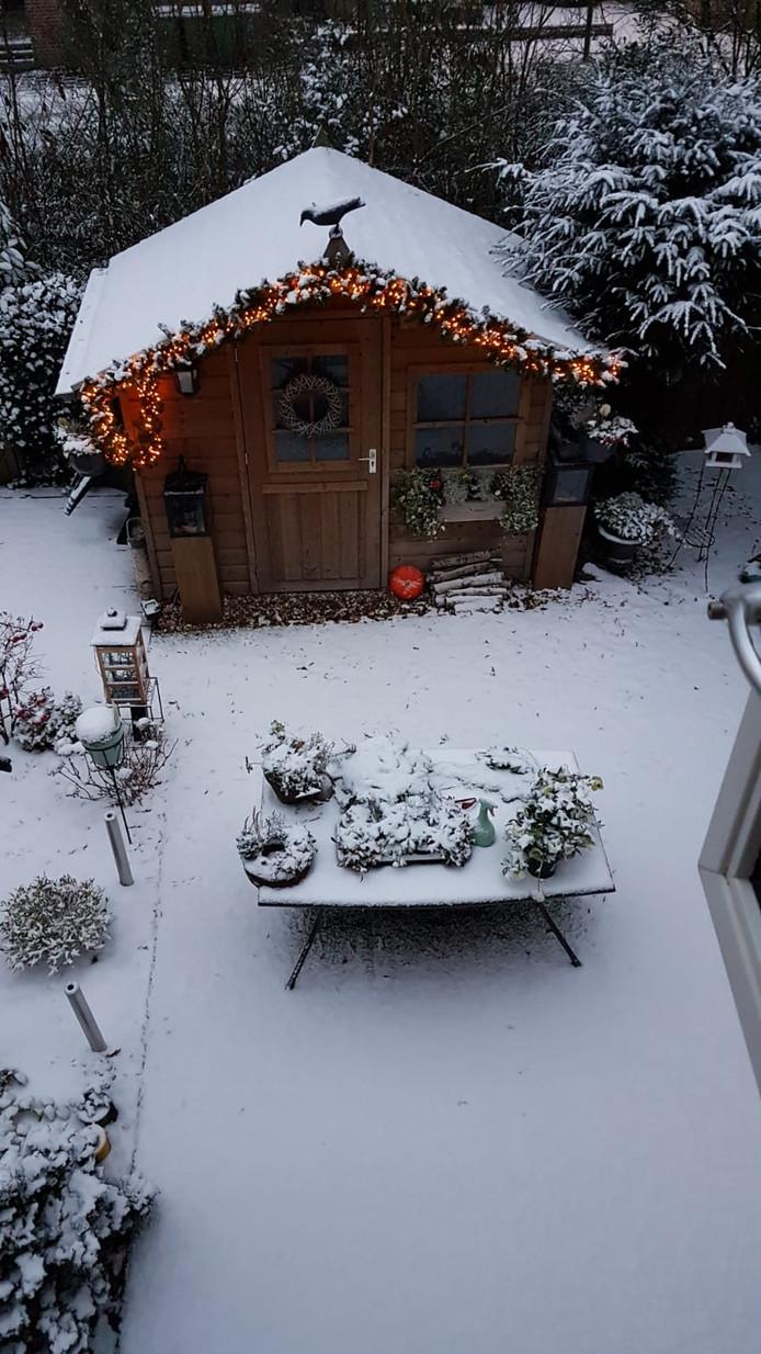 Een tuinhuisje in Oosterbeek