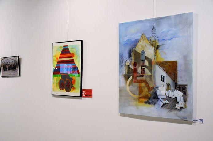 Kunstenaars maakten werken rond toegankelijkheid