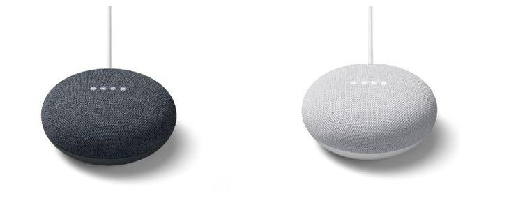 De Google Nest Mini.
