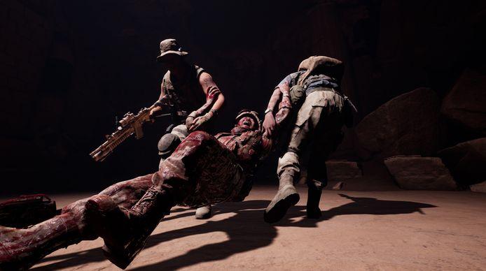 Je personages komen voor gruwelen te staan waartegen zware oorlogswapens niet opgewassen zijn.