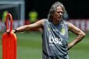 Jorge Jesus, de ervaren coach van Flamengo.