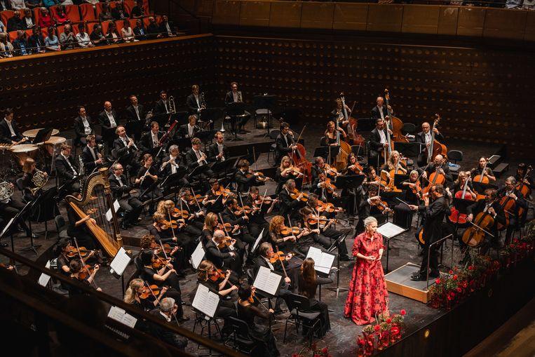 Het Antwerp Symphony Orchestra.
