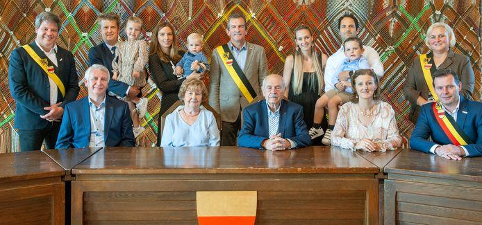 Jan Verkest en Denise Tack zijn 60 jaar gehuwd