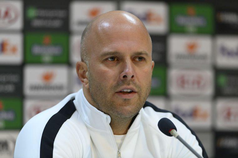 Trainer Arne Slot. Beeld ANP
