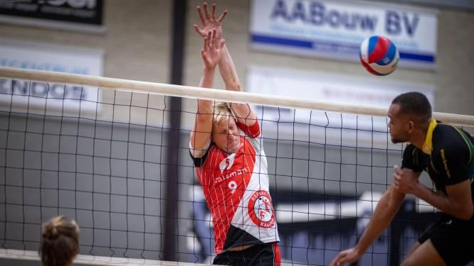 Volleyballers Reflex en Vovem'90 moeten improviseren door blessures en dat kost punten