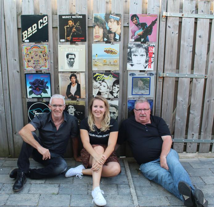 Noud van Dinther, Laura den Biesen en René den Biesen.