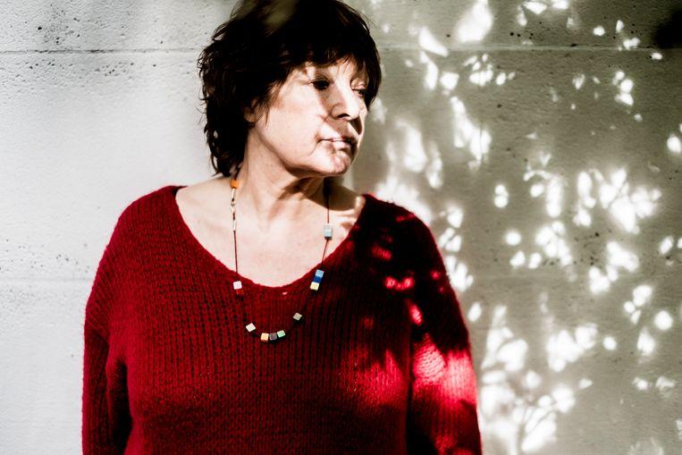 Ingrid Weverbergh: 'Ik vond nooit dat Jotie veel over de dood bezig was. Ook nu lees ik hem nog niet zo.' Beeld Stefaan Temmerman