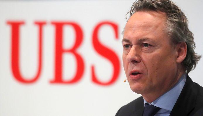 CEO van UBS, Ralph Hamers.