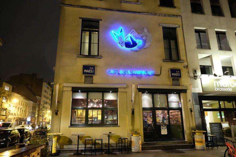 Café Boesjkammeree tegenover het station in Mechelen.