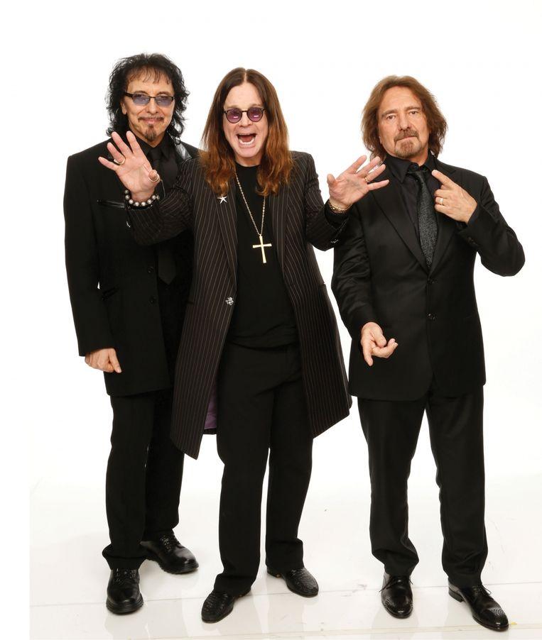 Tomy Iommi (links): 'Gisteren draaiden ze op de radio twee nummers van mij na elkaar. Heel even was ik bang dat ik misschien overleden was.' Beeld