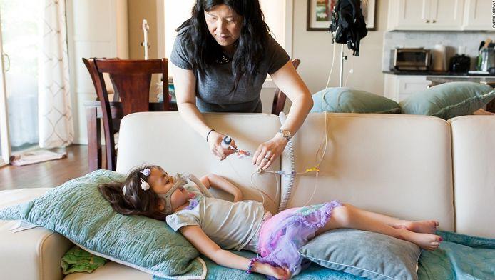 Julianna weet volgens haar moeder heel goed wat het betekent om dood te gaan.