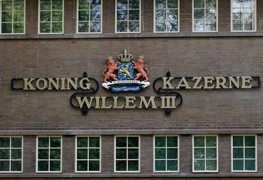 De Koning Willem III kazerne in Apeldoorn waar het incident in 2016 plaatsvond.