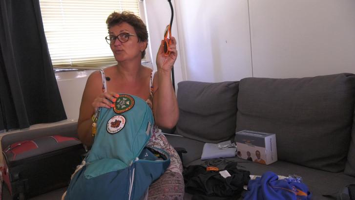 Vierdaagse: tas inpakken met Jolanda (55)