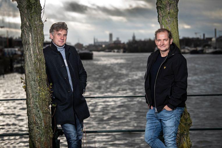 Peter Vandenbempt en Karl Vannieuwkerke. Beeld Marco Mertens