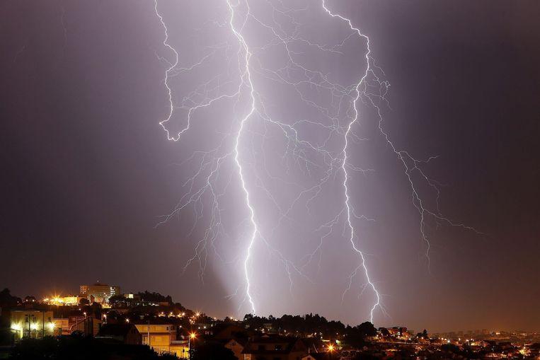 Het onweer van vorige week vrijdag sloeg hard toe in de Frans-Belgische grensgemeente Escaudain.