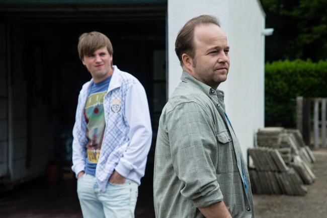 Elias De Bruyne en Sven De Ridder in een van de 'Ontspoord'-uitzendingen die het scherm niet halen.