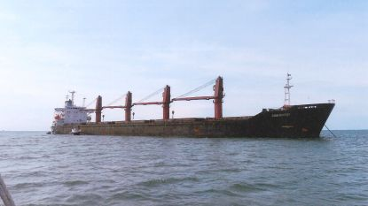 Noord-Korea vraagt VN om hulp bij vrachtschip