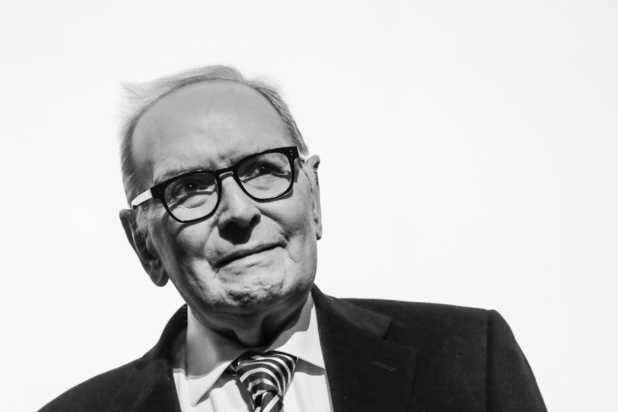 Ennio Morricone in 2017. Beeld Photo News