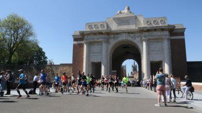 Eerste Great Peace Run & Walk onder brandende zon