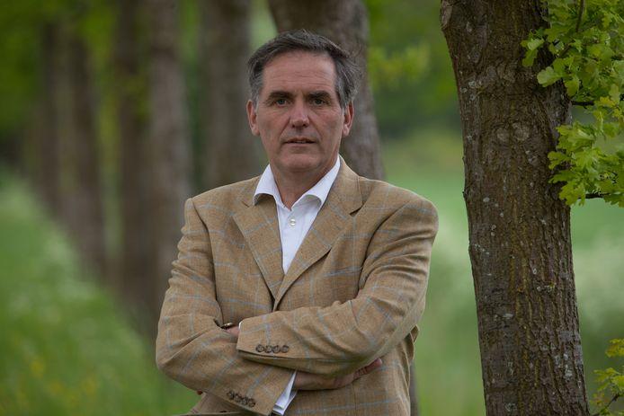 Seger Emmanuel baron van Voorst tot Voorst, directeur van Het Nationale Park De Hoge Veluwe.