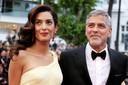 George Clooney en zijn vrouw Amal