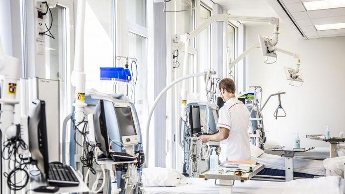 illustratiebeeld van de dialyse-afdeling in AZ Groeninge