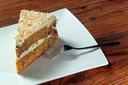 Jeannie Toes–van de Wijdeven ging op 26 februari vorig jaar, haar verjaardag, bij de Douwe Egberts worteltaart eten.