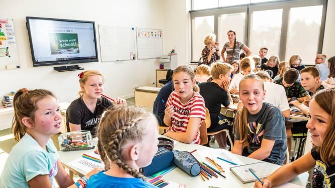Alle kinderen uit het dorp in één nieuw schoolgebouw: 'Hier is het veel groter en leuker'