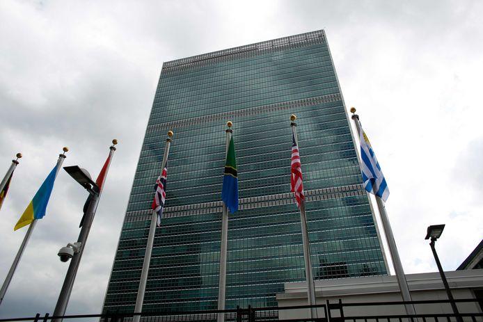 Het VN-hoofdkwartier in New York.