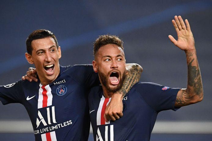 Neymar et Di Maria sont de retour dans le groupe du PSG.