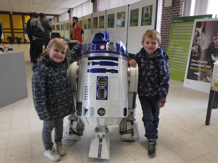 Jasmine en Léon zijn grote fan van R2D2.