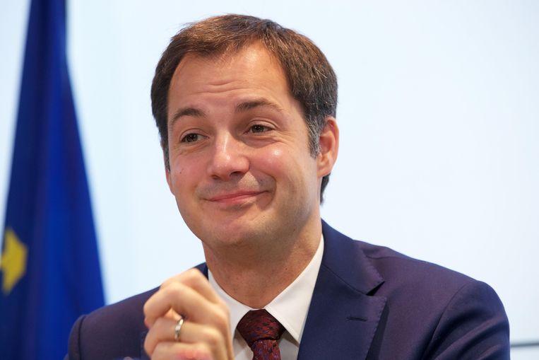 Minister van Telecom en vicepremier Alexander De Croo (Open Vld). Beeld BELGA