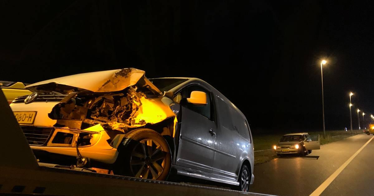 Ongeluk op A1 tussen Deventer en Bathmen: een gewonde.