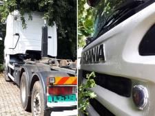 Politie pakt man op voor containerdiefstallen in Brabant en vindt direct gestolen containers en gebruikte vrachtwagen