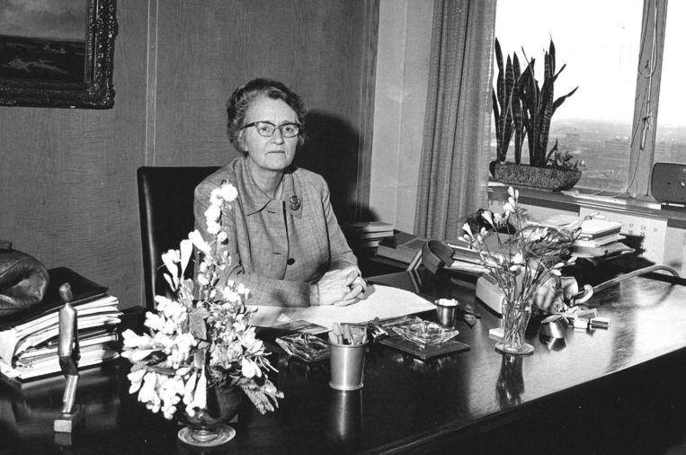 Marga Klompé. Beeld anp