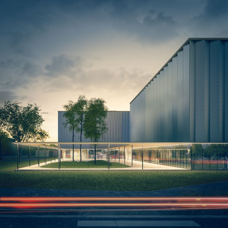 De Topsportschool opent in maart 2020 opnieuw haar deuren, vandaag licht architect Massimo Pignanelli een tipje van de sluier op.