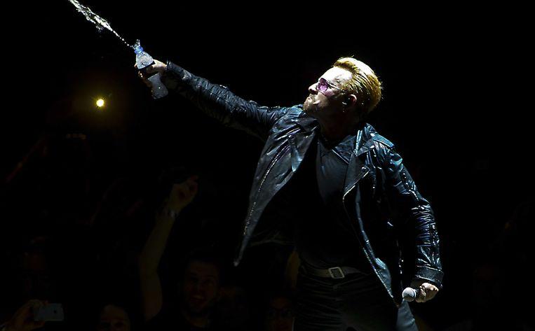 Bono toonde zich verbazingwekkend bescheiden Beeld ANP